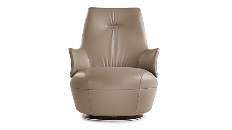 Prefinjena fotelja za radni i životni prostor