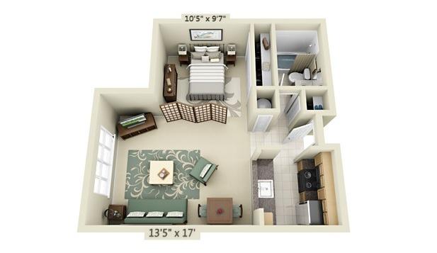 Efficiency Apartment Floor Plan Studio Apartment Floor Plans Home Decor And Design