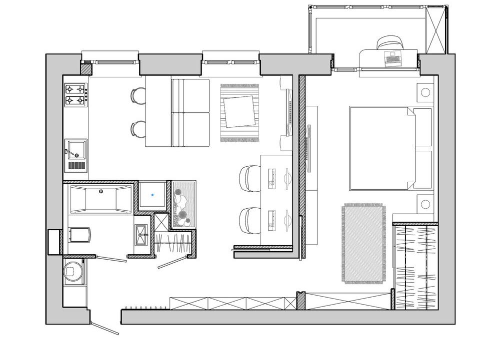 Savršeno uređeni stanovi do 50 kvadrata